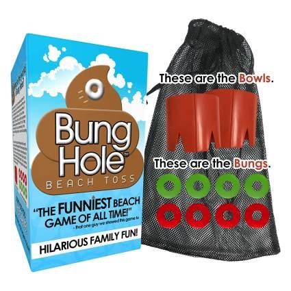 Bung Hole Toss - Cornhole for The Beach