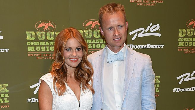 Candace Cameron Bure and husband