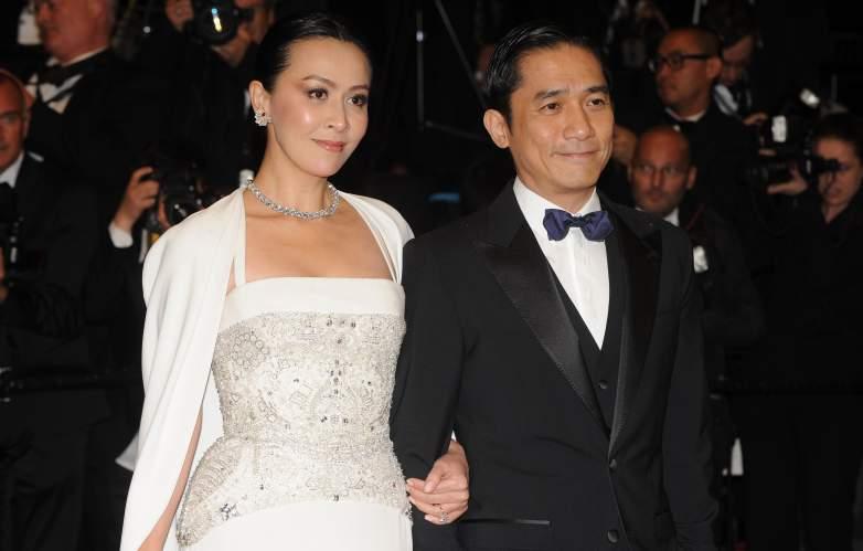Carina Lau and Tony Leung