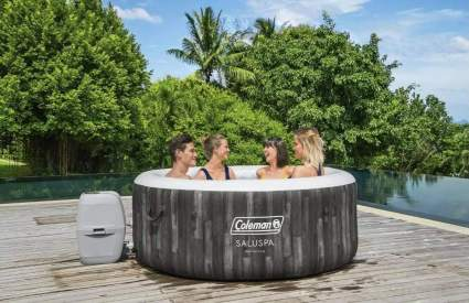 Coleman inflatable hot tub self care gifts for mom