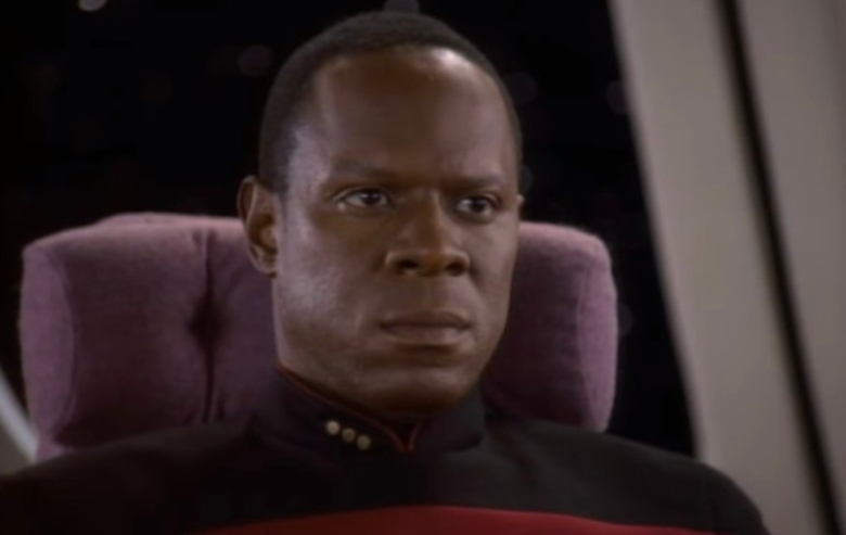 """Avery Brooks as Commander Benjamin Sisko in """"Star Trek: Deep Space Nine"""""""