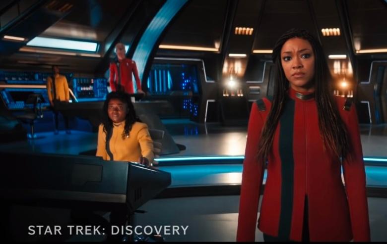 "Screenshot from the ""Star Trek: Discovery"" season 4 trailer"