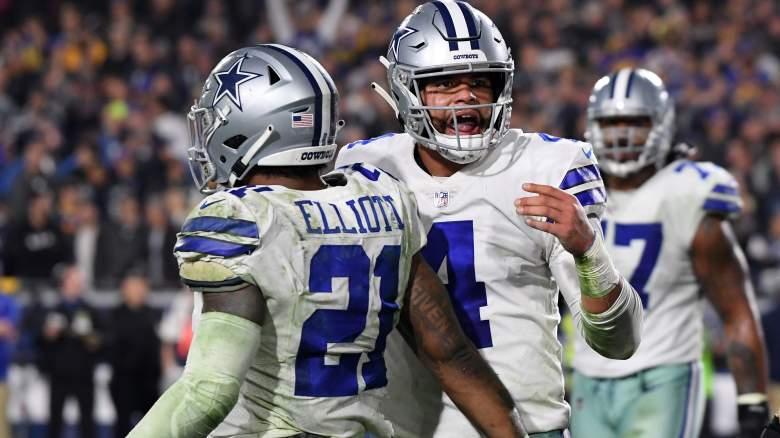 Cowboys RB Ezekiel Elliott, QB Dak Prescott