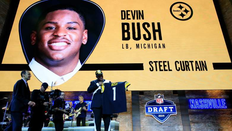 Devin Bush Steelers