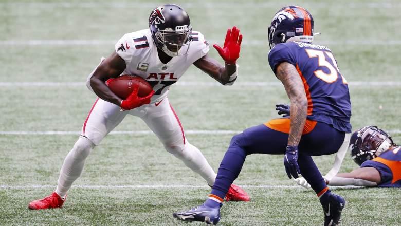 Falcons Broncos