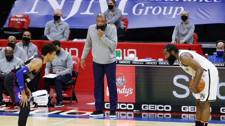 James Harden, Doc Rivers