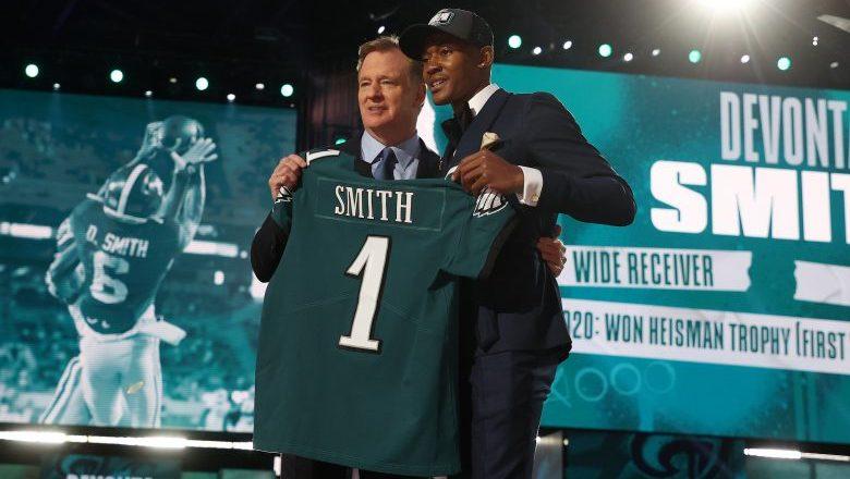Giants react to Eagles trade that landed them DeVonta Smith