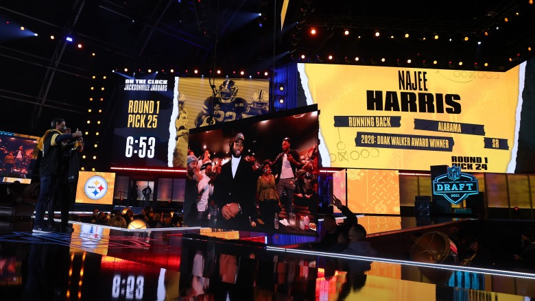 Najee Harris 2021 NFL Draft