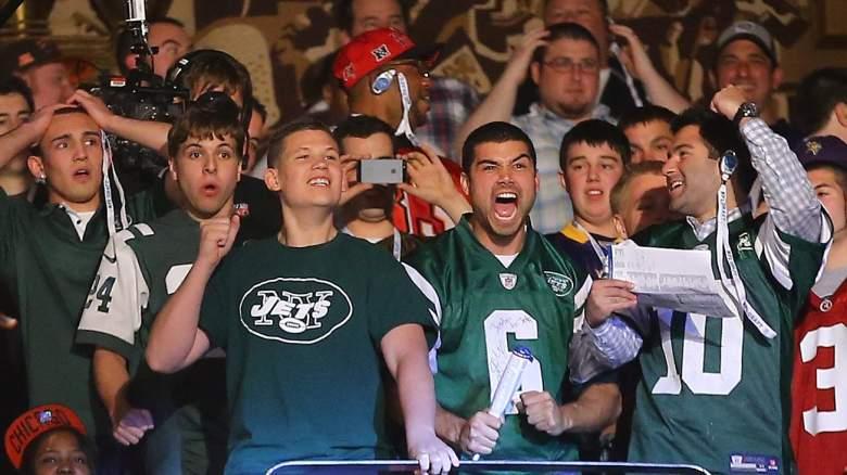 Jets Fans NFL Draft