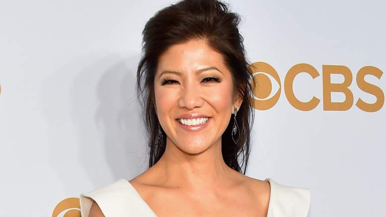 TV Personality Julie Chen attends the 2015 CBS Upfront at The Tent