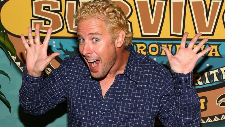 'Survivor' contestant Jonny Fairplay attends the 'Survivor: Micronesia' finale