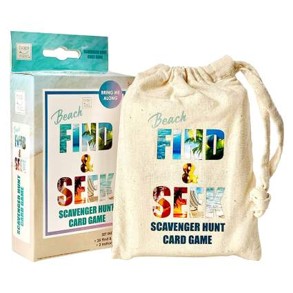 Hapinest Find and Seek Scavenger Hunt - Beach Edition
