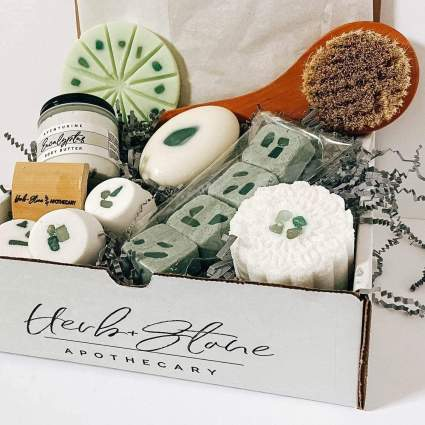 Herb and Stone self care gifts for mom
