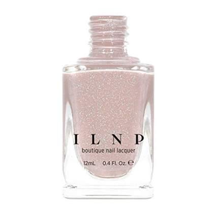 ILNP nude holographic nail polish
