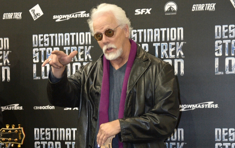 JG Hertzler attends a photocall at Destination Star Trek London at ExCel on October 19, 2012 in London, England