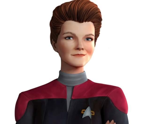 Kate Mulgrew as Janeway of Star Trek: Prodigy