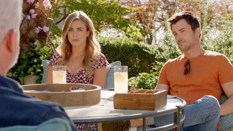 "MANIFEST -- ""Tailfin"" Episode 301 -- Pictured: (l-r) Melissa Roxburgh as Michaela Stone, Matt Long as Zeke Landon"