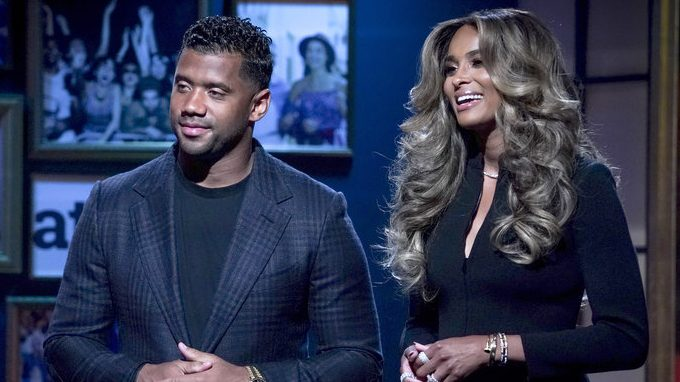 ROLL UP YOUR SLEEVES: PRESENTED BY WALGREENS -- Pictured: Russell Wilson, Ciara