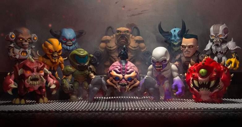 Numskull Doom Figures