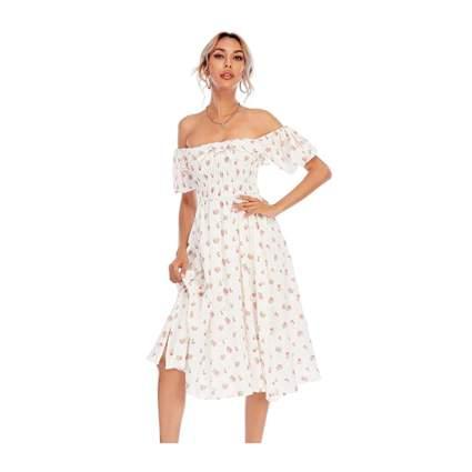 R.Vivmos Floral Dress