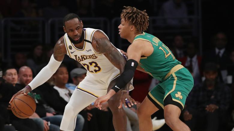 Romeo Langford Celtics LeBron James