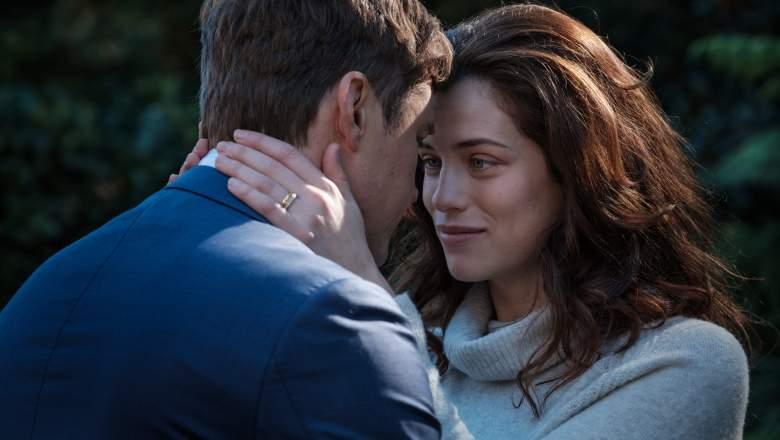 Jessica De Gouw as MEGHAN, Michael Dorman as JACK - The Secrets She Keeps Season 1, Episode 1