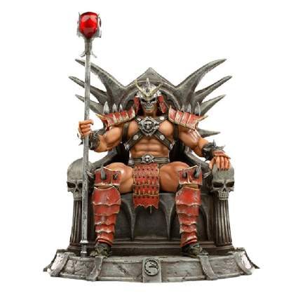 Shao Kahn Deluxe 1:10 Scale Statue by Iron Studios