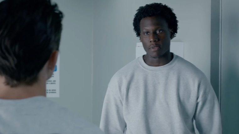 "Okea Eme-Akwari plays Shawn in ""Cobra Kai."""