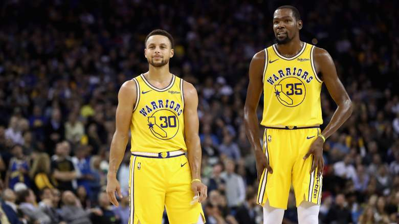 Kevin Durant Steph Curry