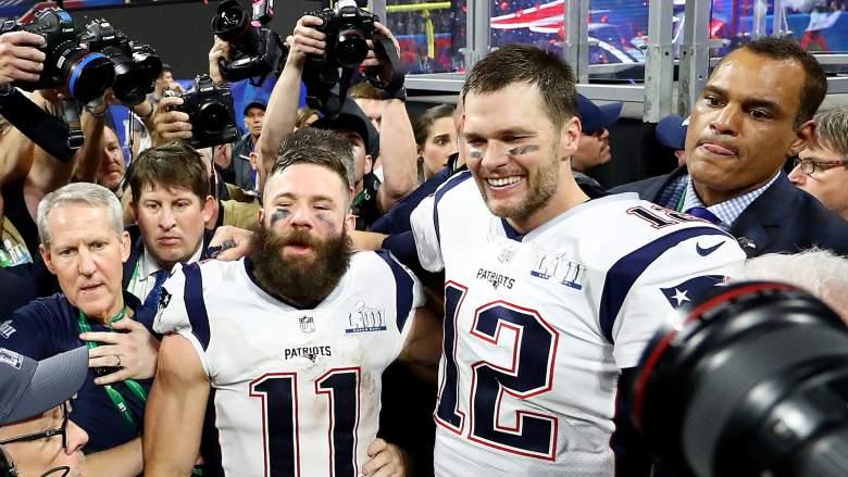 Tom Brady & Julian Edelman