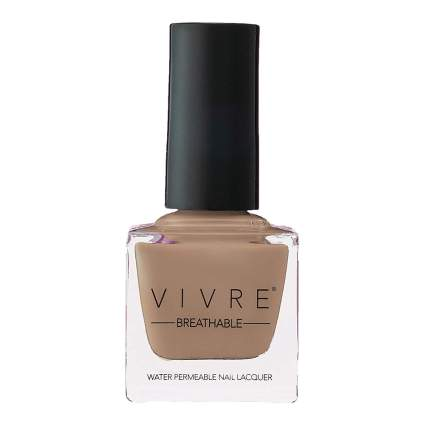 Camel tan nail polish bottle