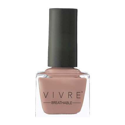 Cashmere colored nail polish bottle