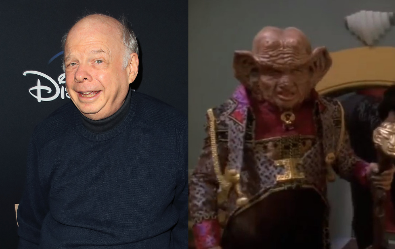 """Wallace Shawn and his character Zek on """"Star Trek: Deep Space Nine"""""""