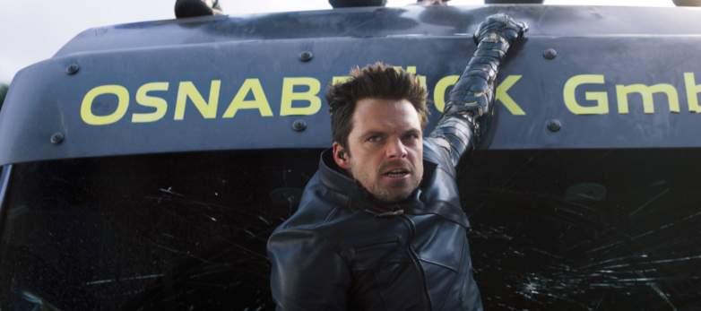 Sebastian Stan as Winter Soldier