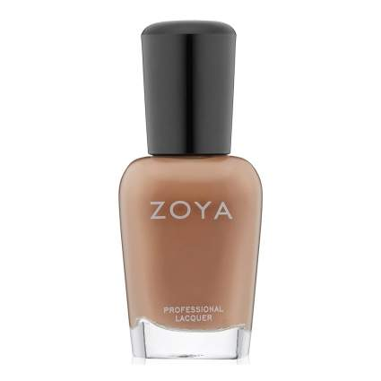 Tan nail polish by Zoya