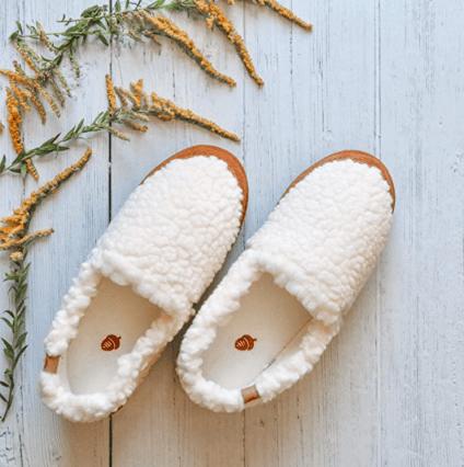 acorn womens moc slipper self care gifts for mom
