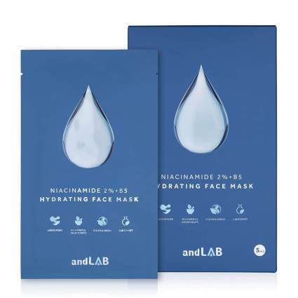 andLAB hydrating face masks self care gifts for mom