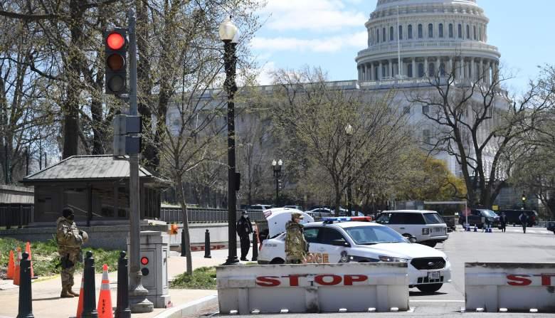 capitol lockdown shooting video