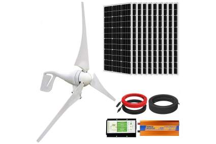 Eco-Worthy 1,400W Wind Solar Power Kit
