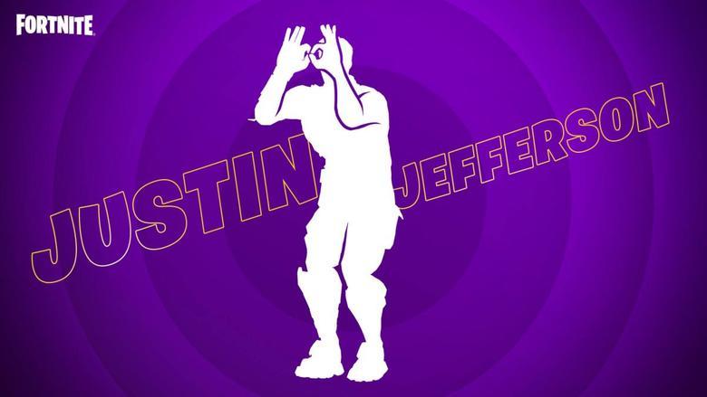 fortnite icon series justin jefferson
