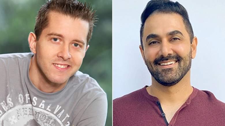 Matt Hoffman and Kaysar Ridha of 'Big Brother'