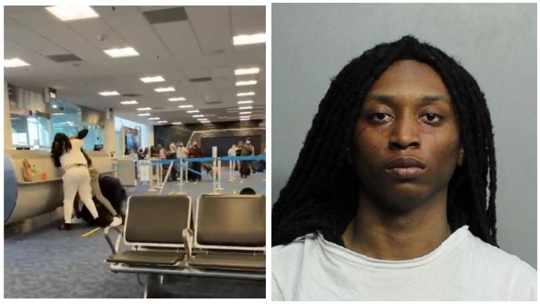 miami airport brawl jameel decquir