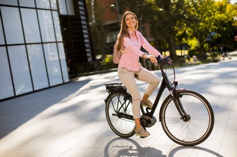 best step through electric bikes
