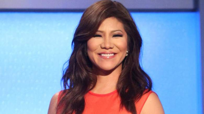 Julie Chen Moonves on the 'Big Brother' set