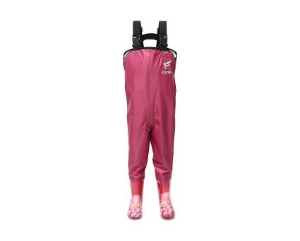 8 Fans Kid's Bootfoot Lightweight Nylon PVC Chest Waders