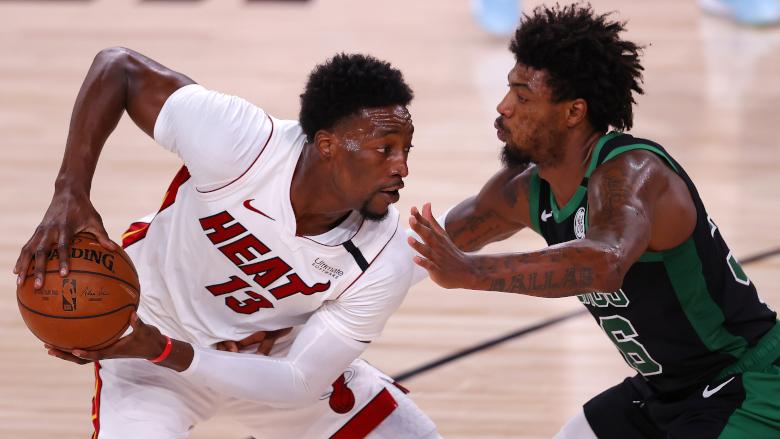 Bam Adebayo Heat Celtics