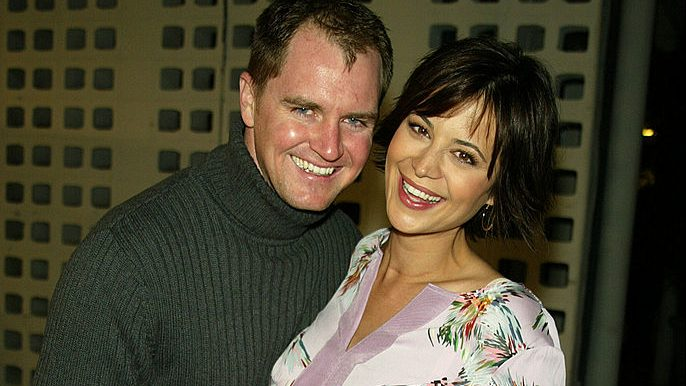 Catherine Bell and husband