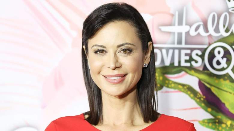 Catherine Bell and ex-husband