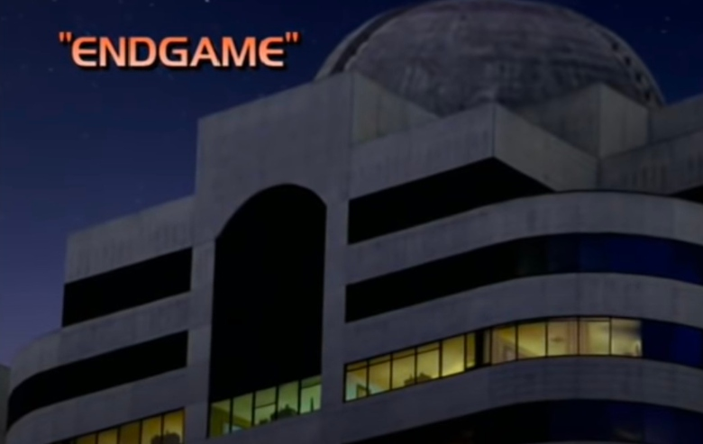 """Intro screen from the """"Star Trek: Voyager"""" finale"""