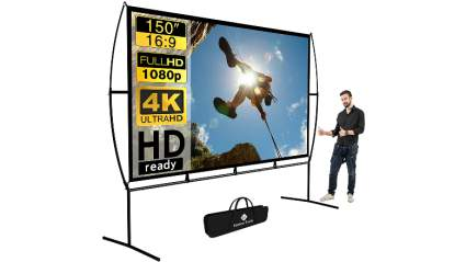 Getco Tech 150-Inch Outdoor Projector Screen